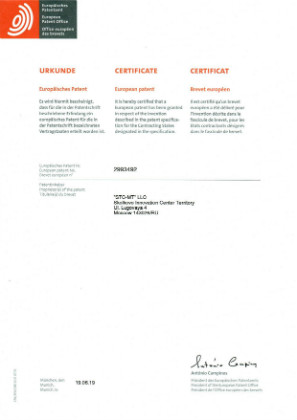The European patent is obtained